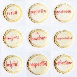 Teacher Thank You Gift Idea – Cakes and Cookies