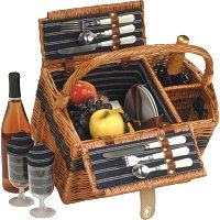 Teacher Thank You Gift: Woven Picnic Basket