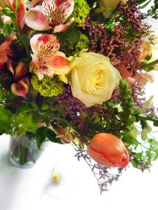 Flowers as teacher appreciation gift